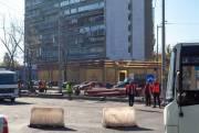 За неделю завершат асфальтирование Дарницкой площади
