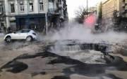 Дома на улицах Шота Руставели и Саксаганского будут с теплом, несмотря на масштабную аварию