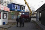 В 8 районах Киева демонтируют торговые киоски