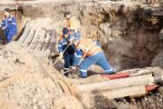 Прорыв трубопровода на Шота Руставели ликвидируют завтра