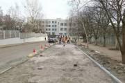 В Киеве появился первый тротуар с подогревом