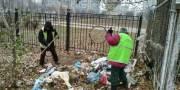 В Деснянском районе ликвидировали стихийную свалку