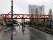 Ремонт пешеходного перехода возле НАУ завершат в июне