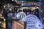 Как Киев подготовился к Новогодним праздникам (фото и видео)