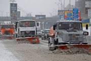 Киев подготовили к ухудшению погоды, но водителей просят пользоваться общественным транспортом