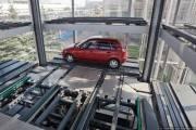 Первая автоматическая парковка появится в Киеве в первом квартале