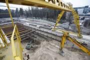 Строительство метро на Виноградарь идет по графику (новые фото)