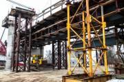 Автосообщение Подольским мостом откроют в этом году (новые фото со строительства)