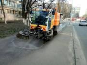 Коммунальные службы усилили санитарную обработку города