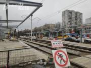Названа дата завершения реконструкции трамвайной линии на Борщаговке