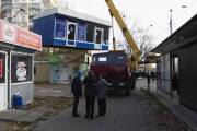 За год в Киеве демонтировали полторы тысячи незаконных построек