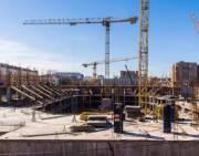 В январе в Киеве вырос объем строительства