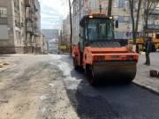 Из-за карантина уменьшился трафик в Киеве и дорожники активно ремонтируют дороги