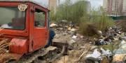 В Дарницком районе убрали стихийные свалки