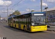 В Киеве увеличили количество транспорта (схема движения)
