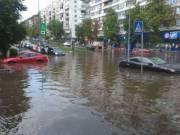 Киевлян просят сообщать о местах подтоплений