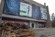Киевлянам показали, как реконструируют кинотеатр «Краков»