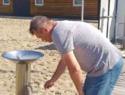 На пляжах Киева проверят питьевые фонтанчики