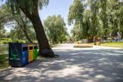 В парках Киева установят контейнеры для раздельного сбора мусора