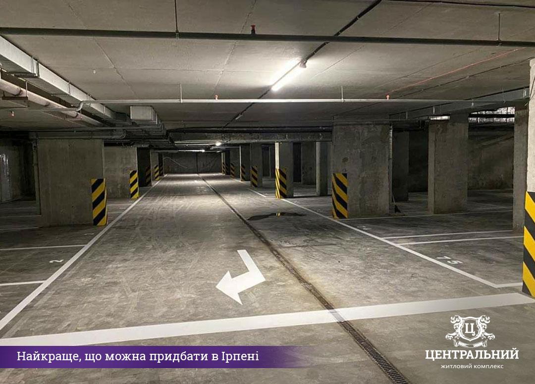 В ЖК «Центральный-2» открыли подземный паркинг