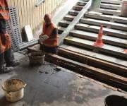 В Оболонском районе реконструируют подземный переход