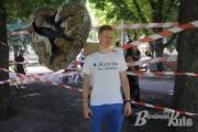В Киеве открыли арт-объект из окурков (фото)