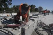 Движение Борщаговским мостом в направлении Кольцевой дороги откроют через 2 недели (видео)