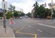В Киеве еще на двух улицах в центре появились полосы для движения велосипедистов