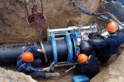На улице Ильинской в Киеве реконструируют канализацию