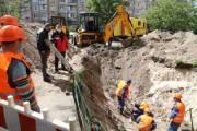В двух районах Киева ограничат движение из-за ремонта канализации