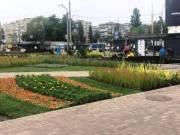Реконструкцию Оболонской площади завершают (фото)