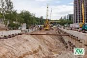 Работы по строительству метро на Виноградарь оплатили на следующий год