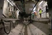 На стройплощадке метро на Виноградарь уже перенесли инженерные сети (видео)