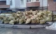 Киевлян штрафуют за строительный мусор во дворах