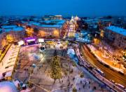Что будет в центре Киева на Новый год (карта)