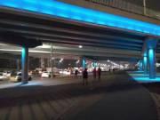 Капитально отремонтированные мосты подсветили разными цветами (фото)