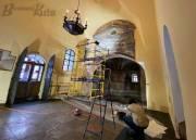 В Софийском соборе начали новый этап реставрации (фото)