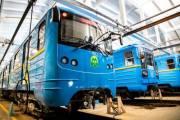 Киевское метро запустило полностью модернизированный поезд, отремонтированный за 35 миллионов гривен