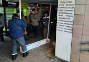 Возле метро «Харьковская» демонтировали киоски