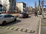Бульвар Вацлава Гавела стал безопаснее для пешеходов