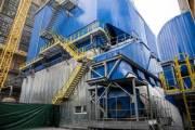 На Дарницкой ТЭЦ установили два новых электрофильтра газоочистки